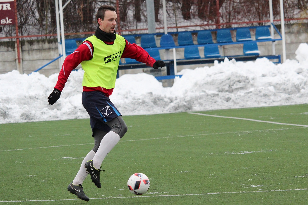 zima piłkarz
