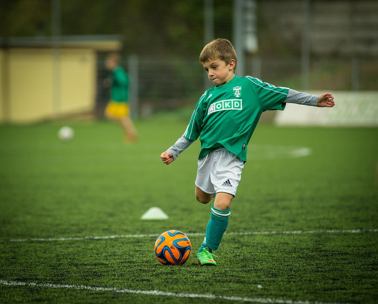 Strój piłkarski dla chłopca